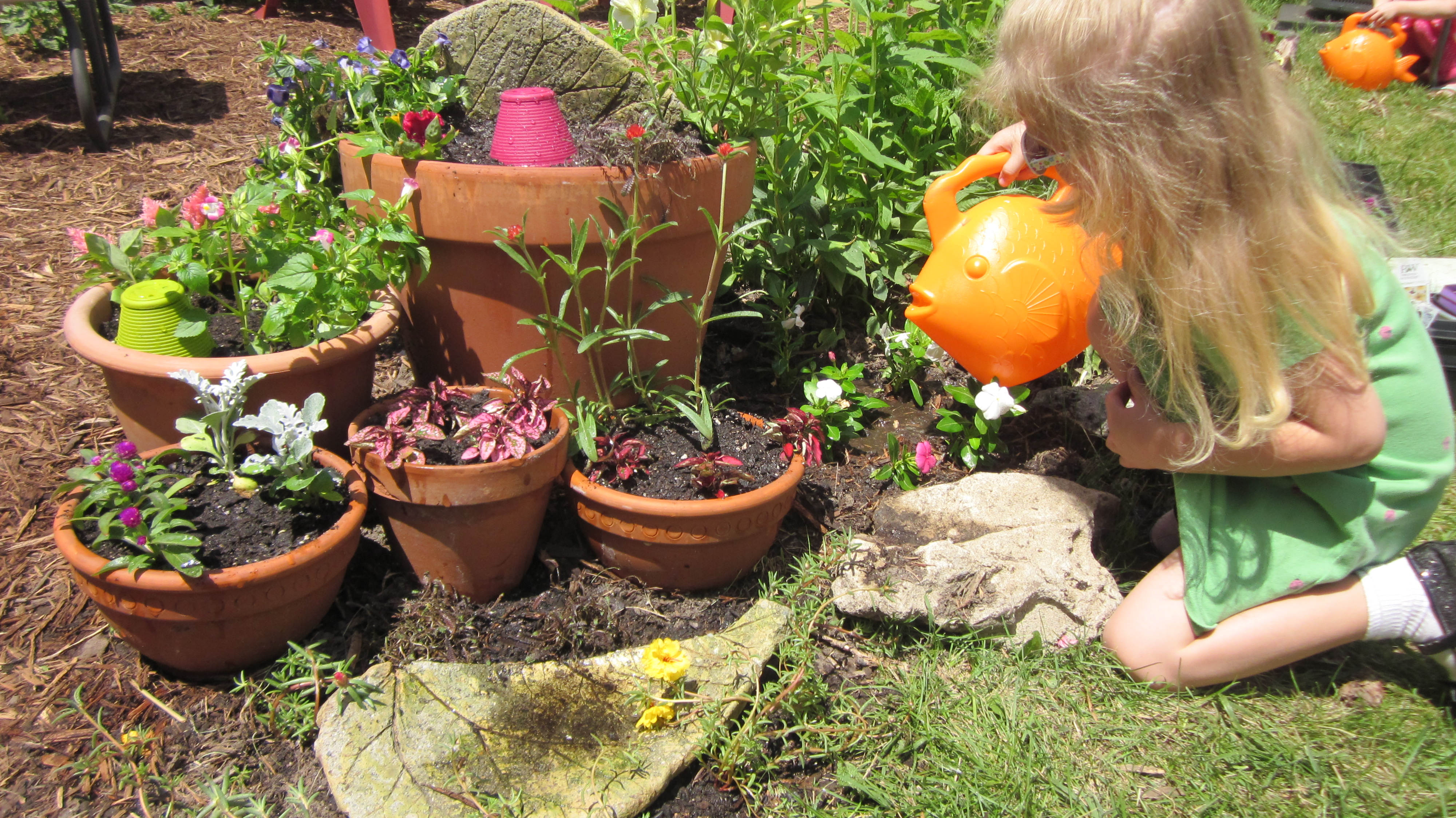Fairy Garden Pinterest Challenge Complete! | mama nervosa